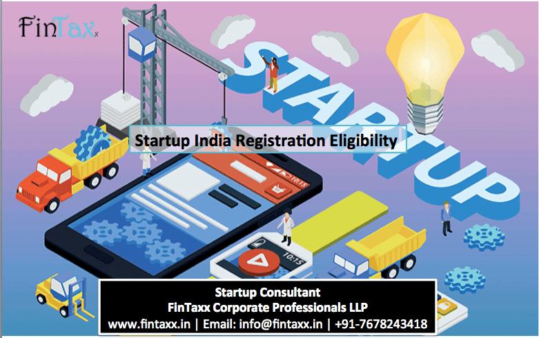 Startup India Registration Eligibility